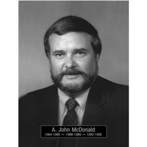 1984, 1988-1991: Mayor John A. McDonald