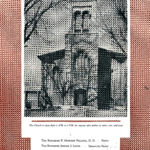 1956 Service Booklet