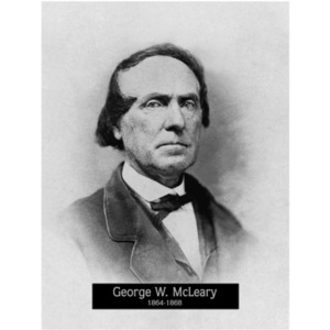 1864-1868: Mayor George McCleary