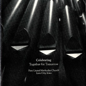 """Celebrating Together for Tomorrow"" booklet"