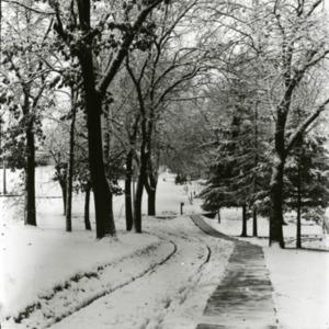Park in Snow, undated