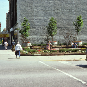 Mini Park at Dubuque and Washington Streets, 1974