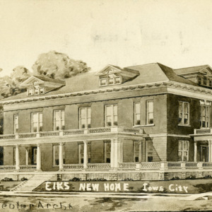 Elk's New Home, Iowa City