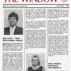 1989 New Staff New Development Office!