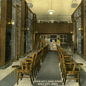 Stewart's Shoe Store, Iowa City, Iowa