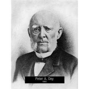 1860: Mayor Peter Dey