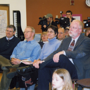 Audience at ICPL Groundbreaking, 2002