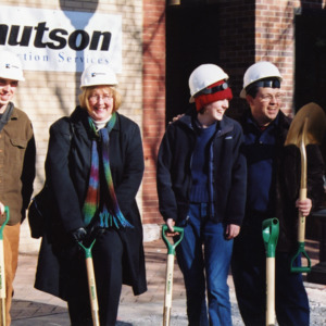Susan Craig Family, ICPL Groundbreaking, 2002