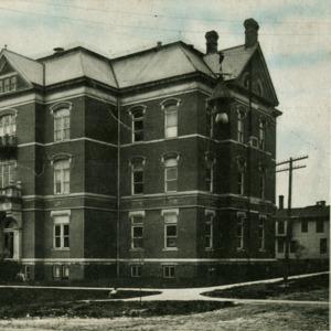 Old Hall of Natural Science, S.U.I., Iowa City, Iowa, undated
