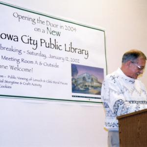 Mayor's ICPL Groundbreaking Speech, 2002