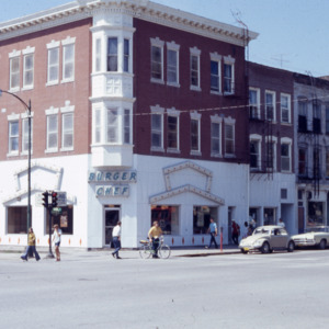 Corner of Washington and Clinton Streets, 1973