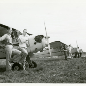 Unidentified Persons, Iowa City Airport, 1940