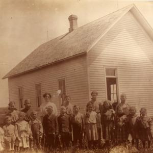 Liberty #6 School,  Indian Grove,  1905
