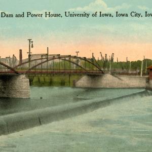 University Dam and Power House, University of Iowa, Iowa City