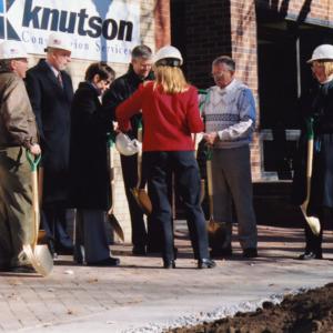 ICPL Groundbreaking Preparation, 2002