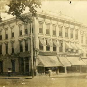 Southeast Corner of Clinton and Washington Streets, Iowa City, Iowa