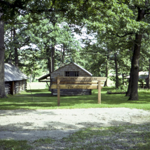 Log Cabins, Upper City Park, 1970-1976