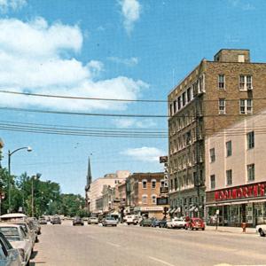1960s Clinton Street postcard