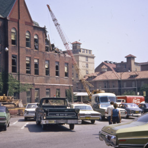 East Hall Annex Demolition, 1973