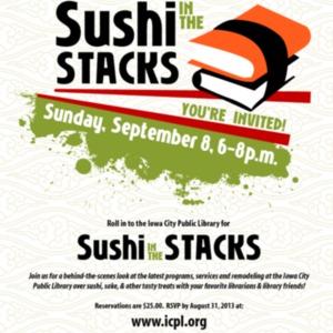 2013 Sushi in the Stacks