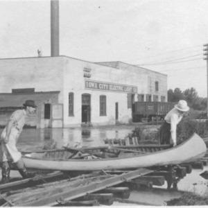 Iowa City Flood, 1918