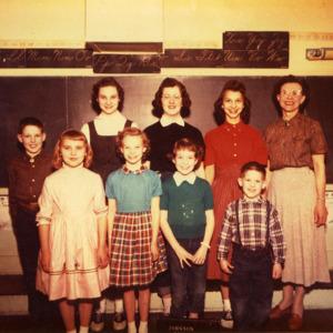 Madison #5 School,  Spring 1958
