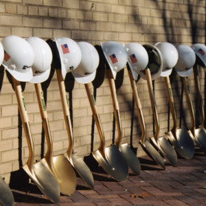 Shovels for ICPL Groundbreaking, 2002