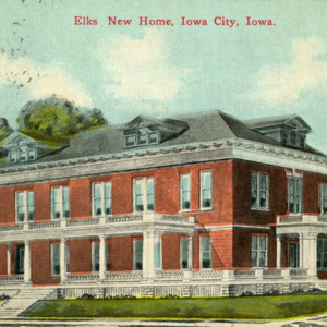 Elk's New Home, Iowa City, Iowa