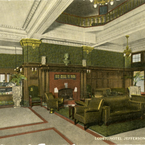Lobby, Hotel Jefferson, Iowa City, Iowa