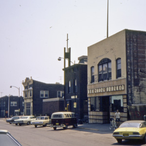 Iowa Avenue Looking East, 1970-1976