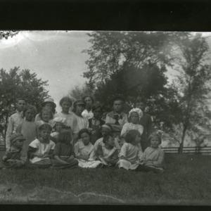 Schoolchildren, date unknown