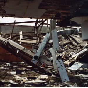 Damage at Hartwig Motors