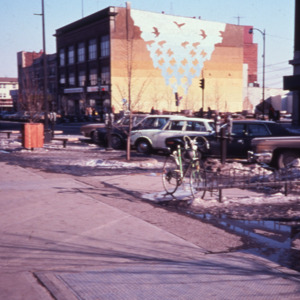 Washington Street and Black Hawk Mini Park, 1970s