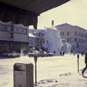 Frozen Water after Fire, 1970