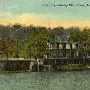 Iowa City Country Club House, Iowa City, undated