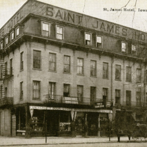 St. James Hotel, Iowa City, Iowa