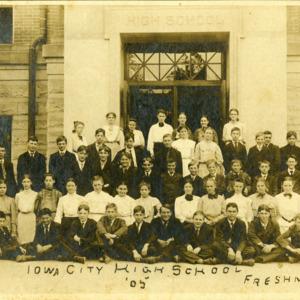 Iowa City High School Freshmen, 1905