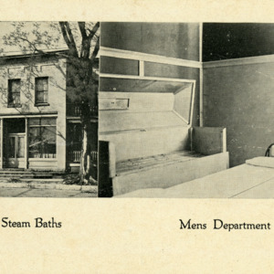 Sulfur Steam Baths, Mens Department