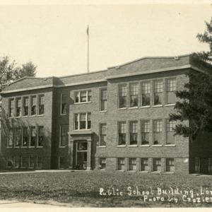 Public School Building, Lone Tree, Iowa, undated