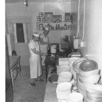 Kitchen Workers, 1950s