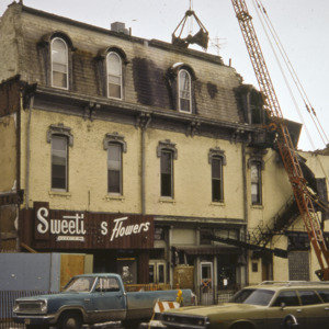 Sweeting's Flowers Building Demolition, 1970-1976