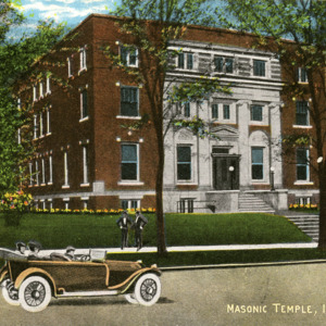Masonic Temple, Iowa City, Iowa