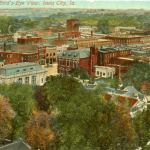 Bird's Eye View, Iowa City, Iowa