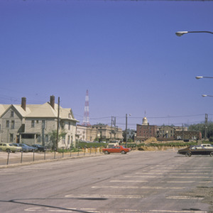 Parking Lot, View of Capitol and College Streets, 1970-1976