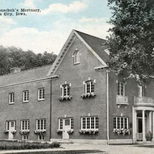 W.P. Hohenschuh's Mortuary, Iowa City, Iowa