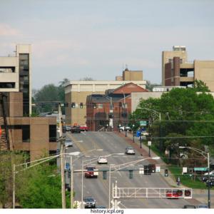 Burlington Street looking East