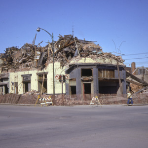 Odd Fellows Building Demolition, 1970-1976