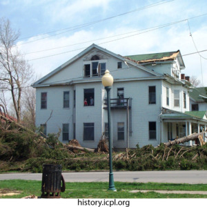 House at 706 E. College Street, documented by City of Iowa City