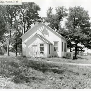 Washington Township School #9, undated