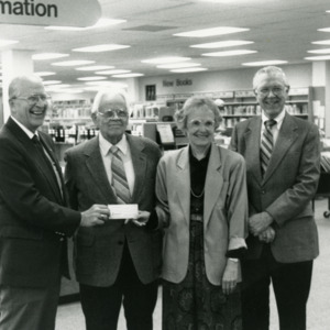 Library Fund Raising, 1991